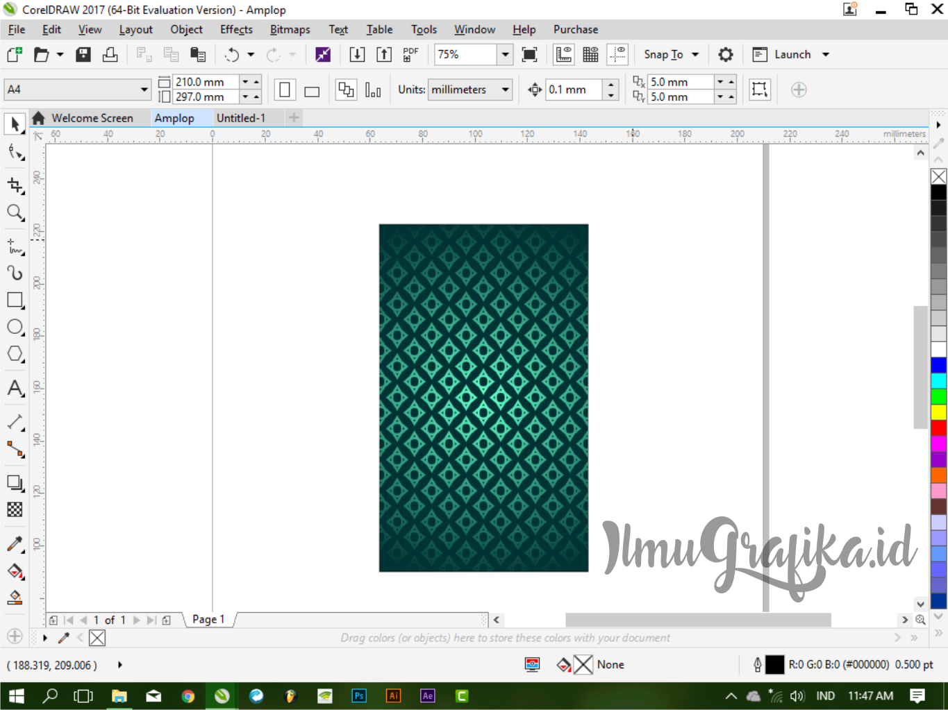 70 Foto Download Desain Amplop Corel Draw HD Gratid Unduh Gratis