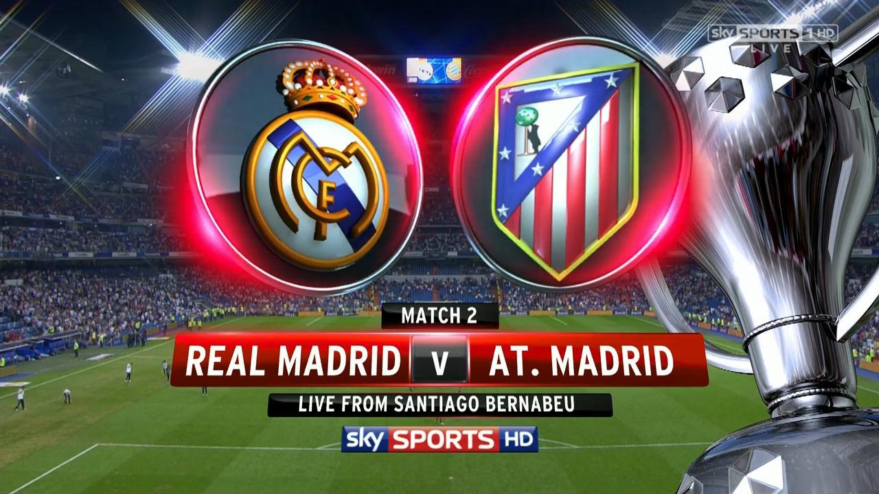 Atlético Madrid Vs Real Madrid: Real Madrid Vs Atletico Madrid La Liga Full Match (HD 720p