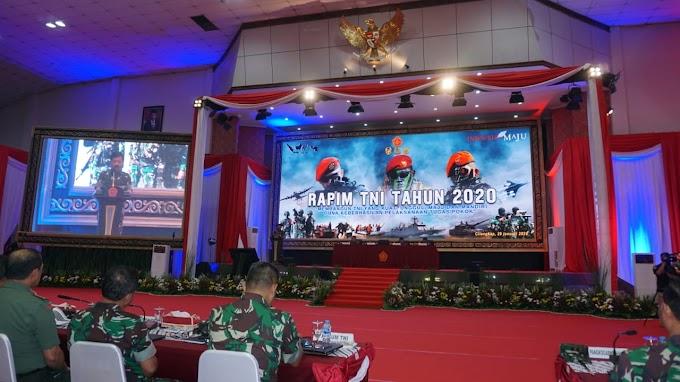 Panglima TNI Pimpin Rapim TNI