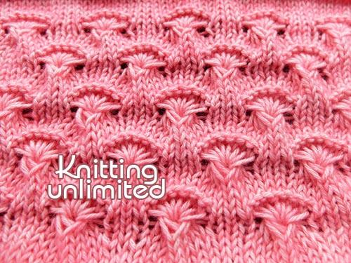 Advanced knitting Stitch, free pattern