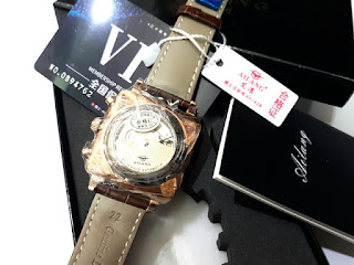 Jam Tangan Automatic Pria Ailang 8655 Chronograph Stainless Steel Waterproof