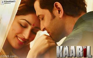 Kaabil Movie - Hrithik Roshan, Yami Gautam