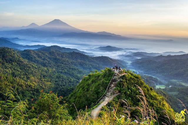 Gunung Kukusan, Wisata Pegunungan di Perbatasan Kulon Progo