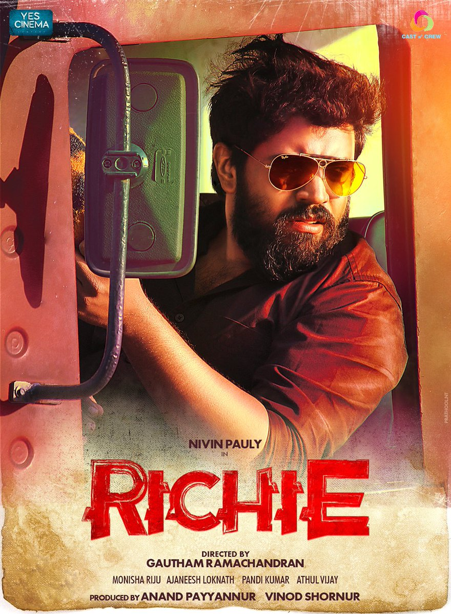 NivinPauly's Richie Movie New Poster
