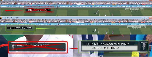 PES 2016 La Liga Laliga Santander 2016-2017 Scoreboard