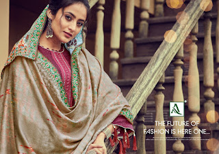 Alok Suits Patan Patola Pashmina Collection