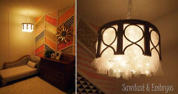 9 Diy Ideas Using String Lights To Make Your Home Look