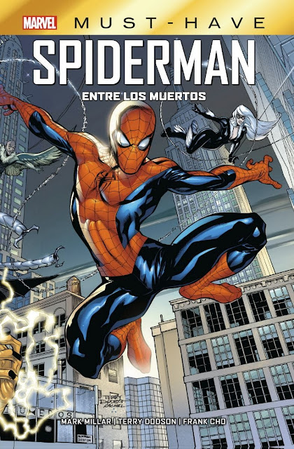 Review del cómic Spiderman: Entre los muertos de Frank Cho y Mark Millar - Editorial Panini