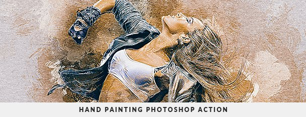 Painting 2 Photoshop Action Bundle - 97