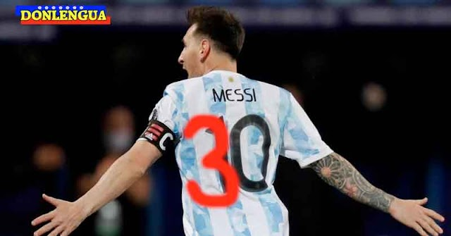 Leo Messi llevará el número 30 en la espalda cuando juegue en el PSG