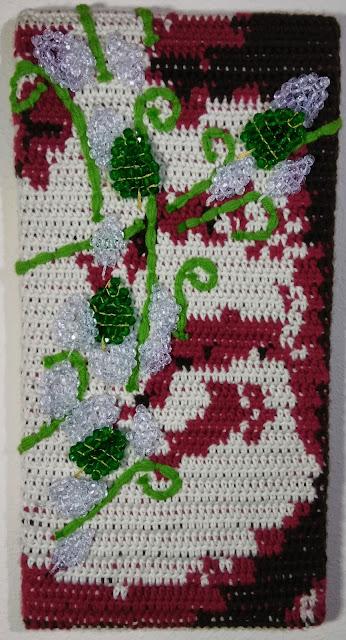 Revulsion - Panel 8, Self Talk: Bipolar Fine Art Tapestry Jen Ten