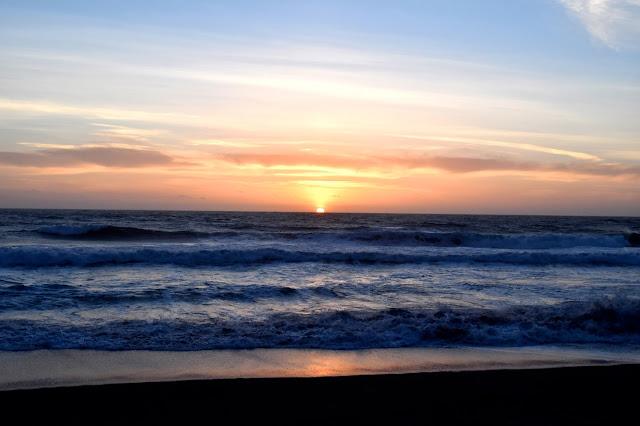 Sunset, Oregon Coast, Summer