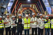 Pengerjaan Capai 44%, Menhub Optimis Proyek Kereta Cepat Jakarta-Bandung Selesai 2021