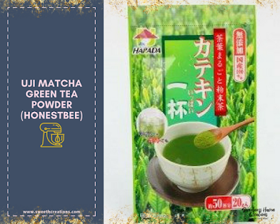 Uji Matcha Green Tea Powder (HONESTBEE RM39.90)