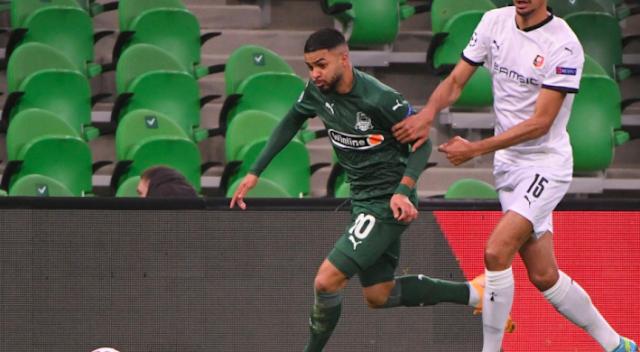 LdC: تتوقف المغامرة في Stade Rennais de Nayef Aguerd