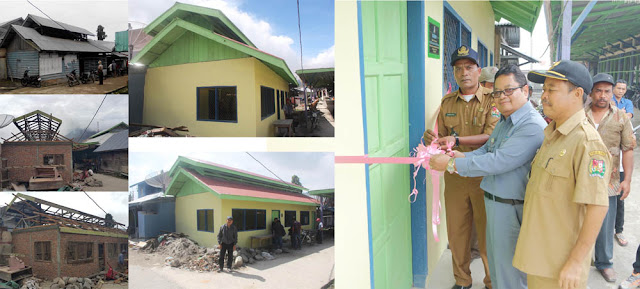 Inalum Renovasi Dapur Jambur untuk Keperluan Korban Sinabung