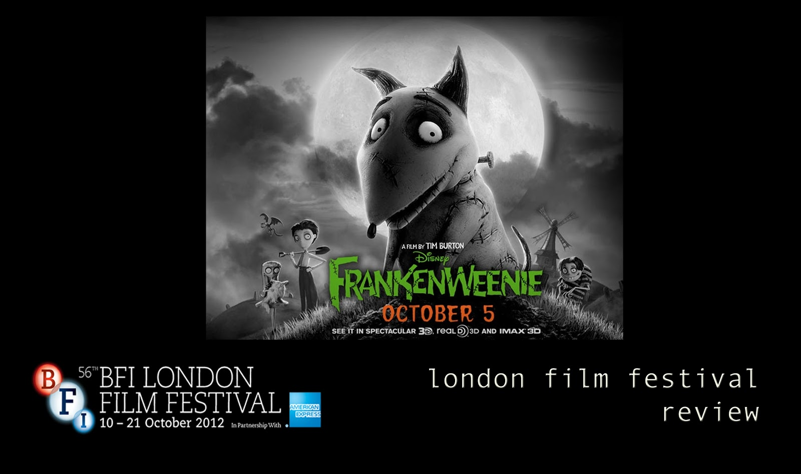 A Musings London Film Festival Review Frankenweenie