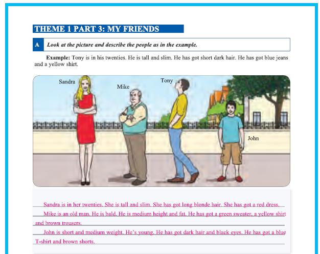 9. Sınıf Yıldırım Yayınları İngilizce A1.2 Çalışma Kitabı 14. Sayfa Cevapları Theme 1 People And Society