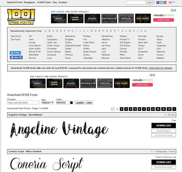 1001-free-fonts