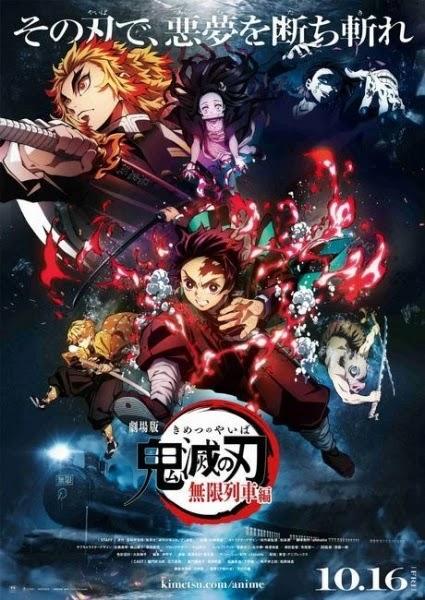 تقرير فيلم Kimetsu no Yaiba Movie: Infinity Train قاتل الشياطين القطار اللانهائي