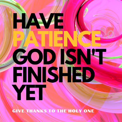 Give Thanks To The Holy One Inspirational Quote