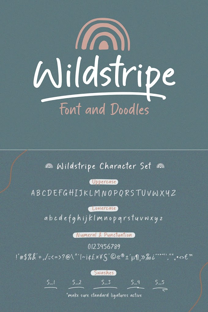 Download Wildstripe Handwritten Font