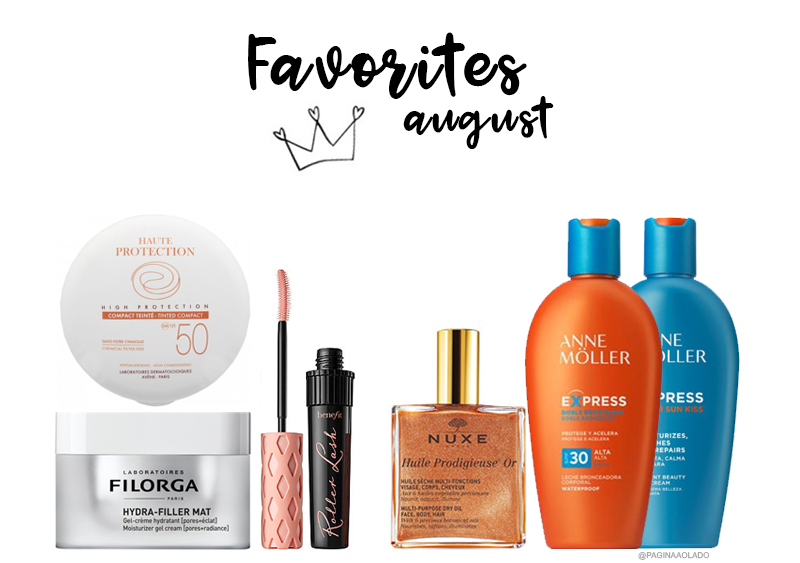 BEAUTÉ // AUGUST 2017 FAVORITES