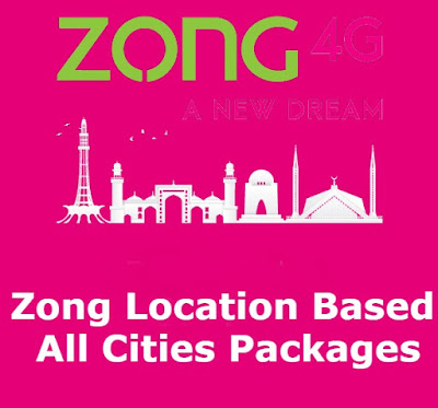 Zong City Offer - Zong Location Based Packages