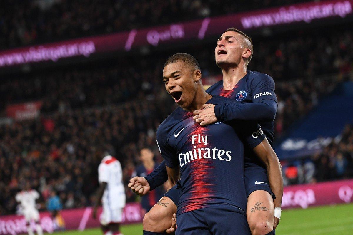 نتيجة مباراة باريس سان جيرمان وليون اليوم الأحد 22/09/2019 الدوري الفرنسي