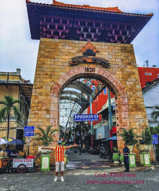 Pasar Baru, el primer mercado de Yakarta