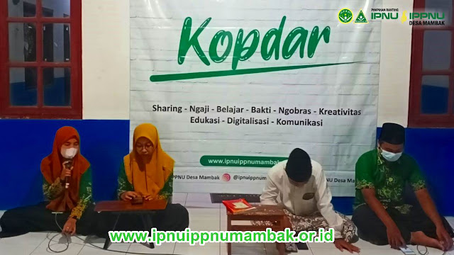 IPNU IPPNU Desa Mambak Bersholawat dalam Kopdar ke-7 di Musholla Al Ikhlas