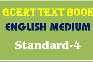 GCERT Textbook English medium std 4 pdf @ https://gcert.gujarat.gov.in/gcert