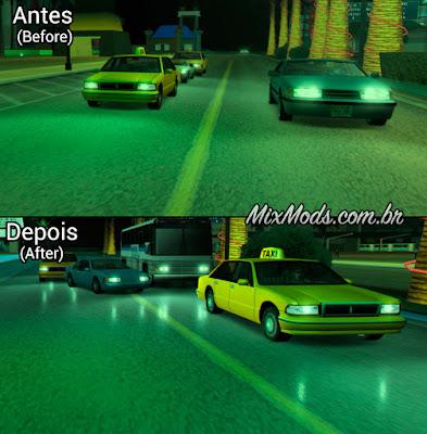 gta sa san mod map fix fixes bug corrigir reflexos molhados wet roads
