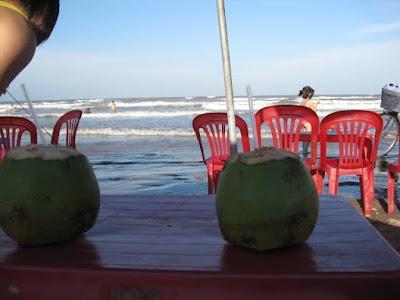 ココナッツジュース nước dừa(ヌック ドゥア)