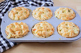 These savory mini chicken pot pies are so incredibly delicious, and adorable to boot!