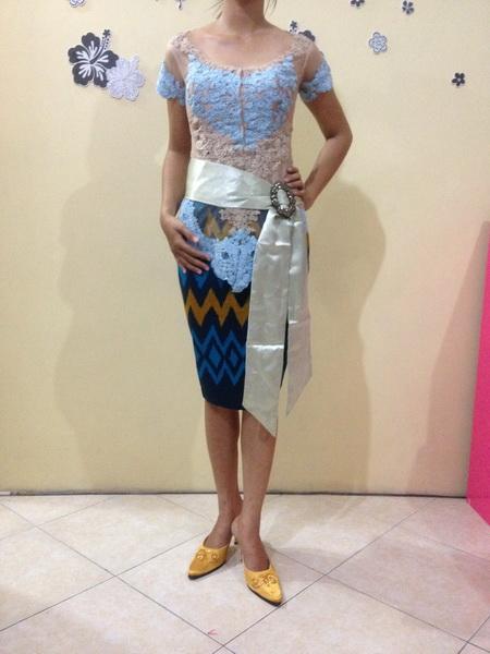 13 Model Gamis Brokat untuk Orang Gemuk Terpopuler
