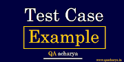Test Cases Example