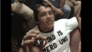 ARNOLD IS NUMERO UNO T-SHIRT at PYGOD.COM