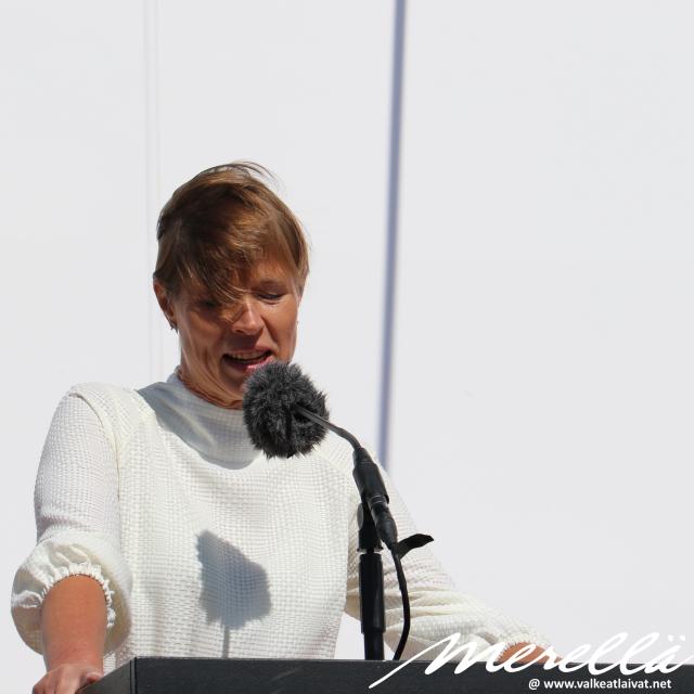 Kersti Kaljulaid MyStar