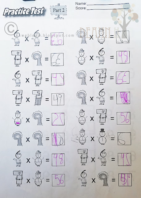 memorize times tables