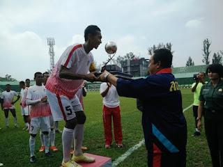 PS TNI Raih Piala Wira Malindo ke-XXXI Tahun 2016