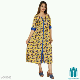 Designer Style Cotton Kurtis