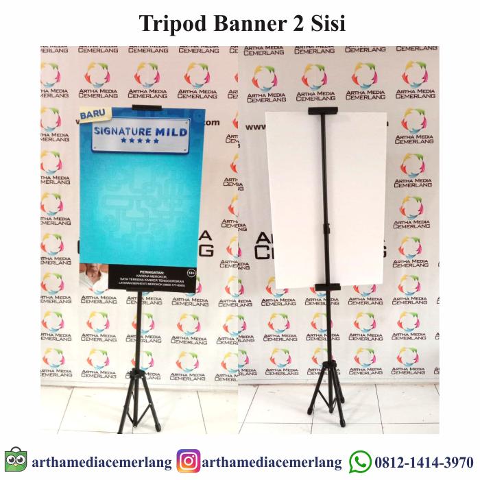 Tripod Banner 1 Sisi