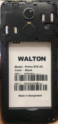 Walton Primo EF8 4G FRP Reset File