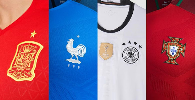 Euro 2016 Kits Overview - All UEFA EURO 2016 Jerseys  Updated 18 03 ... 9d9d2e432