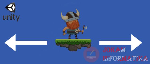 Cara Menerapkan Fungsi Flip Face Hadapan Wajah Karakter Pada Aplikasi Unity 3D - JOKAM INFORMATIKA