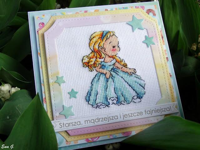 Imieniny miesiąca - kartka z księżniczką Disneya