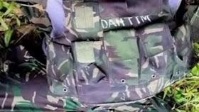 Apes, OPM Curi Senjata TNI dari Jenazah Prajurit yang Gugur Diserang