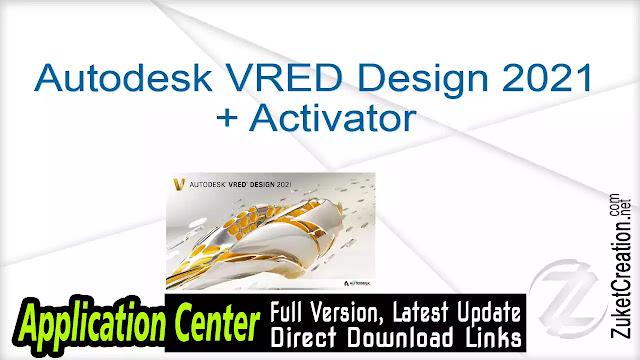 Autodesk VRED Design 2021 + Activator