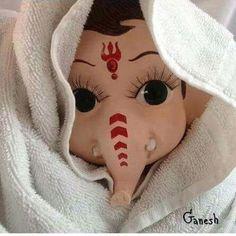 Ganesh images black